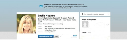 Make Your Linkedin Profile Picture Pop With A Background
