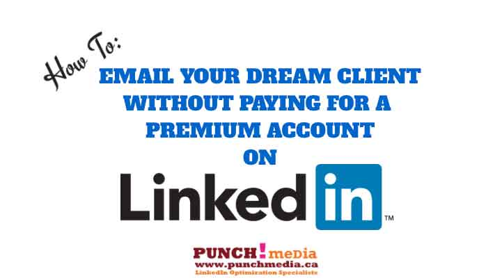 How to get around LinkedIn Inmail
