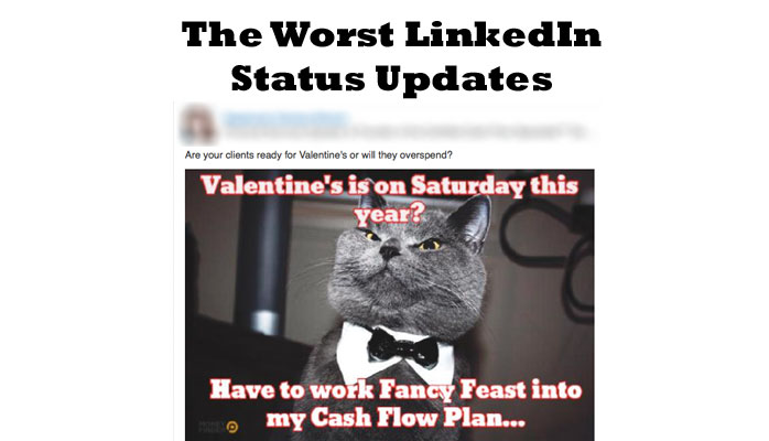 LinkedIn status updates - dos and don'ts