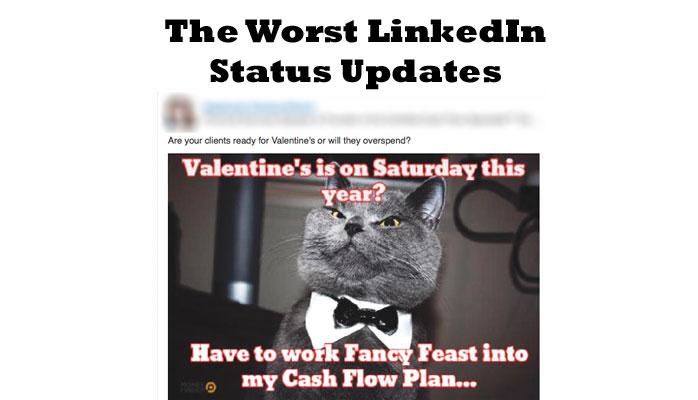 LinkedIn status updates - dos and don'ts