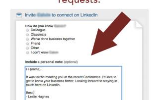 InvitationToConnectLinkedIn