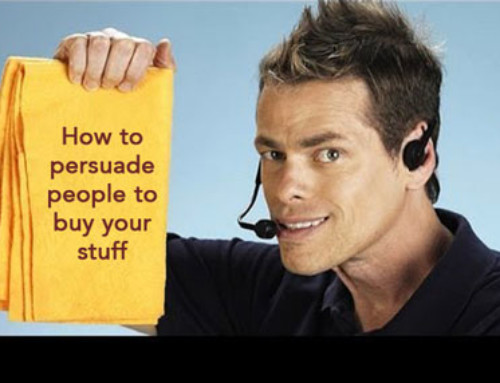 """How infomercials use the persuasive """"science"""" to influence and motivate their target audience to buy."""