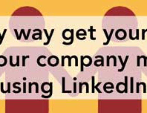 The easy way get your staff to share your company message using LinkedIn