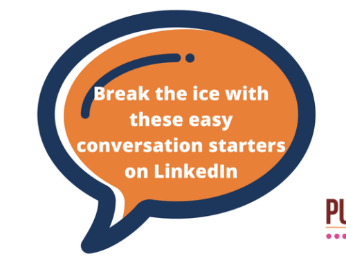 How to start or deepen relationships on LinkedIn. Break the ice with these easy conversation starters.