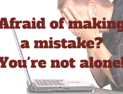 Afraid of making a mistake, so you do nothing at all? You're not alone.