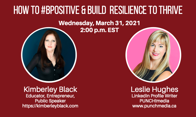 Kimberley Black and Leslie Hughes talk about resiliency